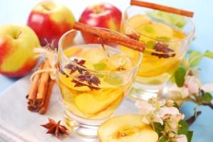 глинтвейн с яблоками